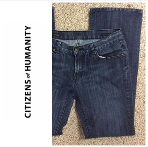 CITIZENS OF HUMANITY KELLY STRAIGHT JEANS